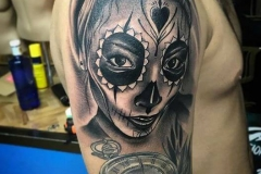 inferno-tattoo-barcelona-raul-leone-catrina