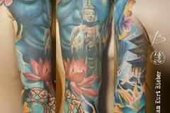inferno-tattoo-barcelona-christian-kurt-color-budha-2017