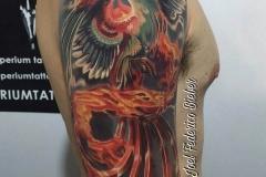 inferno-tattoo-barcelona-joel-federico-tatuaje-pajaro-fuego-color