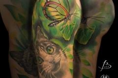 inferno-tattoo-barcelona-christian-kurt-bieber-retrato-gato-estilo-realista-color-grande-hombro