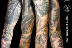inferno-tattoo-barcelona-christian-kurt-neptuno-sirena