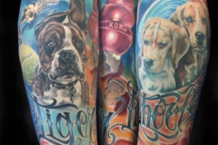 inferno-tattoo-barcelona-realismo-color-joel-federico-bieber-grande-pierna-mascotas