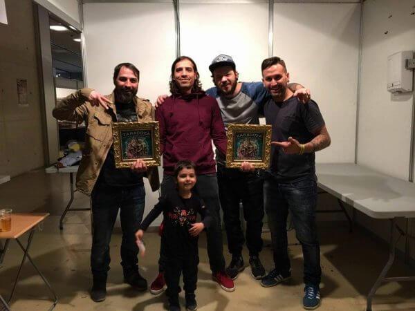 El equipo de Inferno Tattoo Barcelona celebra dos primeros premios en realismo color
