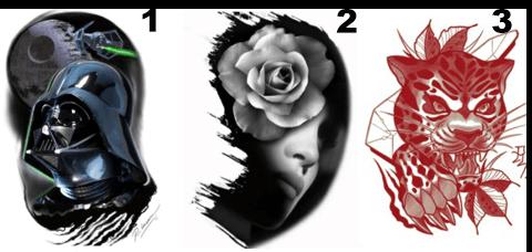 Oferta en tatuaje 1, 2, 3