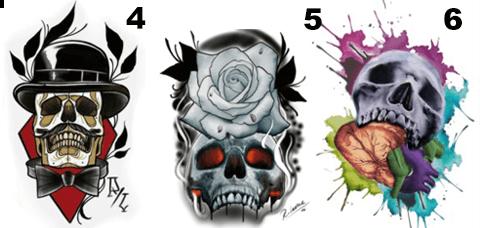 Oferta en tatuaje 4-5-6