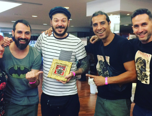 Raúl Leone, premiado en la Valencia Tattoo convention 2017