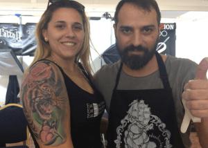 Opiniones sobre tatuajes. Eva y su brazo felino.