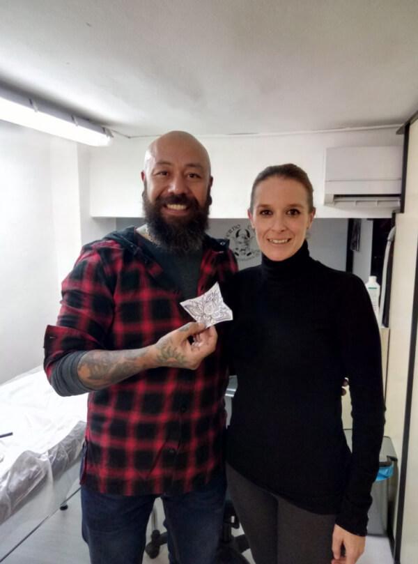 Opiniones sobre tatuajes. Silvia, la ganadora de Miss Inferno 2017.