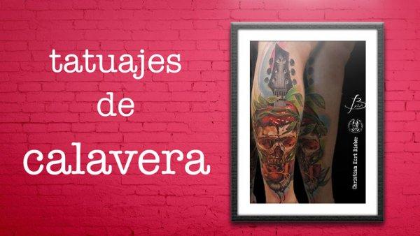 Tatuajes de calavera