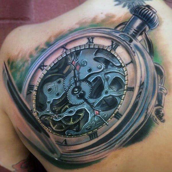 tattoo-pulsera-reloj-azul