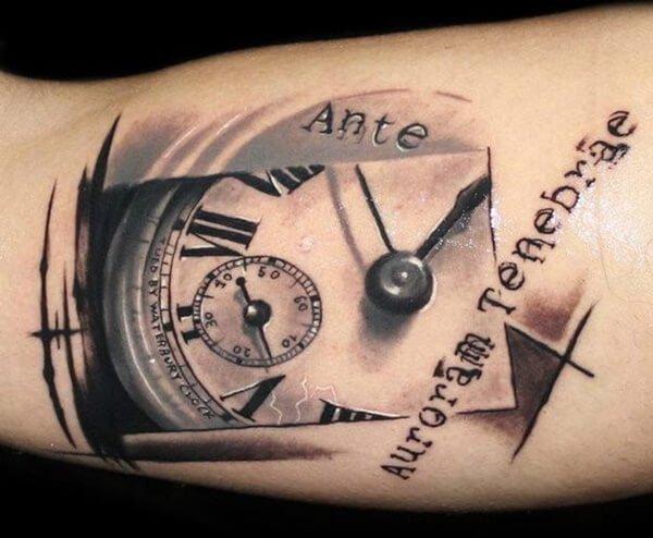 tatuaje-original-reloj