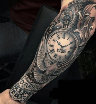 tatuaje-reloj-manga-completa-paloma-fileteado (1)