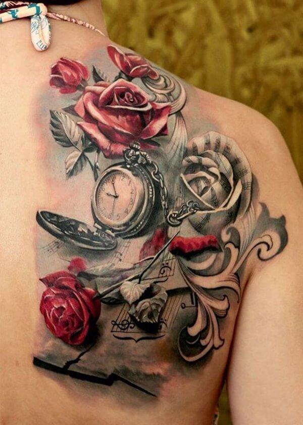 tatuaje-reloj-pulsera-rosas