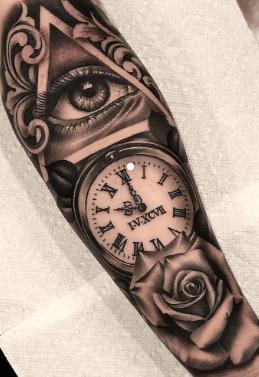 tatuaje-reloj-rosa-fecha-religion