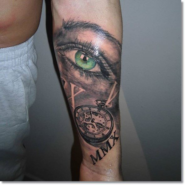 tatuajes-de-relojes-ojos