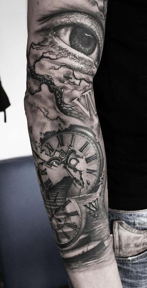 tatuajes-de-relojes-realismo