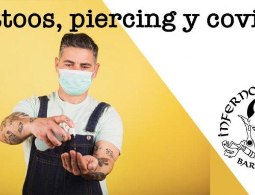 Tatuajes, piercings y Covid19