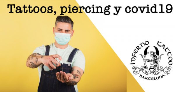 Tattoos, piercing y Covid-19