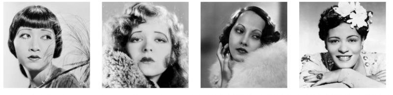 Historia de la moda de las cejas, años 20