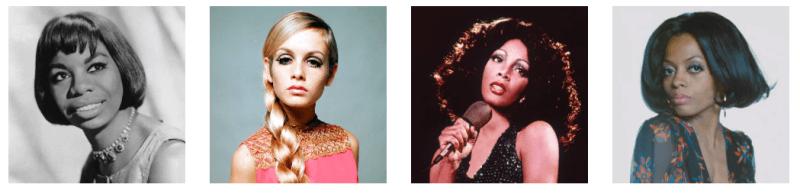 Historia de la moda de las cejas, años 70