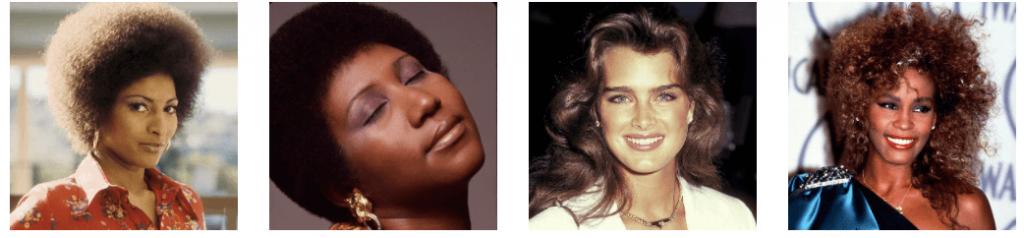 Historia de la moda de las cejas, años 80