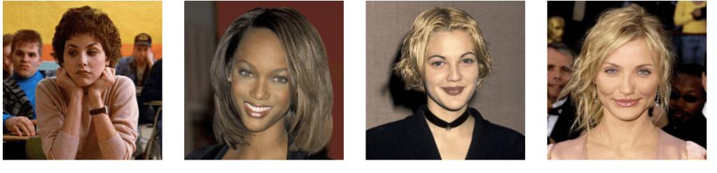 Historia de la moda de las cejas, años 90 (1)