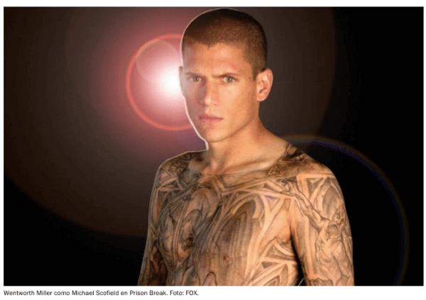 Tatuajes en Netflix: Prison Break