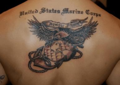Homenaje al cuerpo de marina de los Estados Unidos. Pinterest.