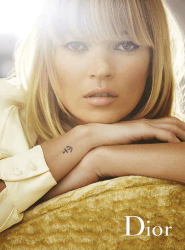 Tatuaje de ancla de Kate Moss